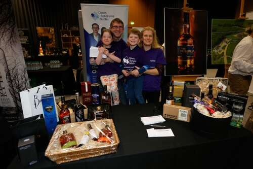 Whiskey Live Dublin 2015 Supporting Down Syndrome
