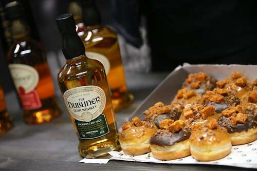 Dubliner Whiskey & Their Whiskey Donuts