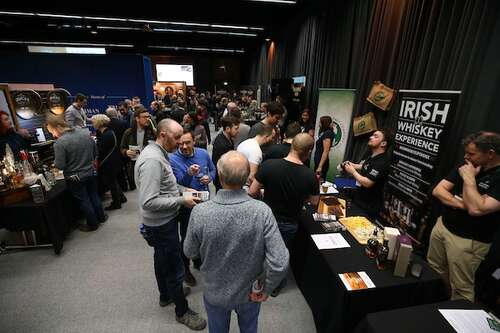 Irish Whiskey Experience Stand