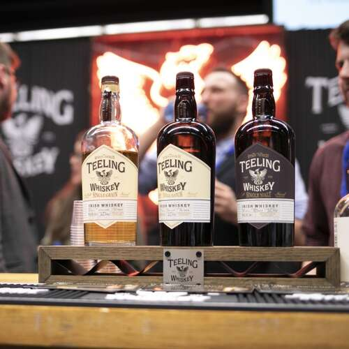 Teeling Whiskey Stand